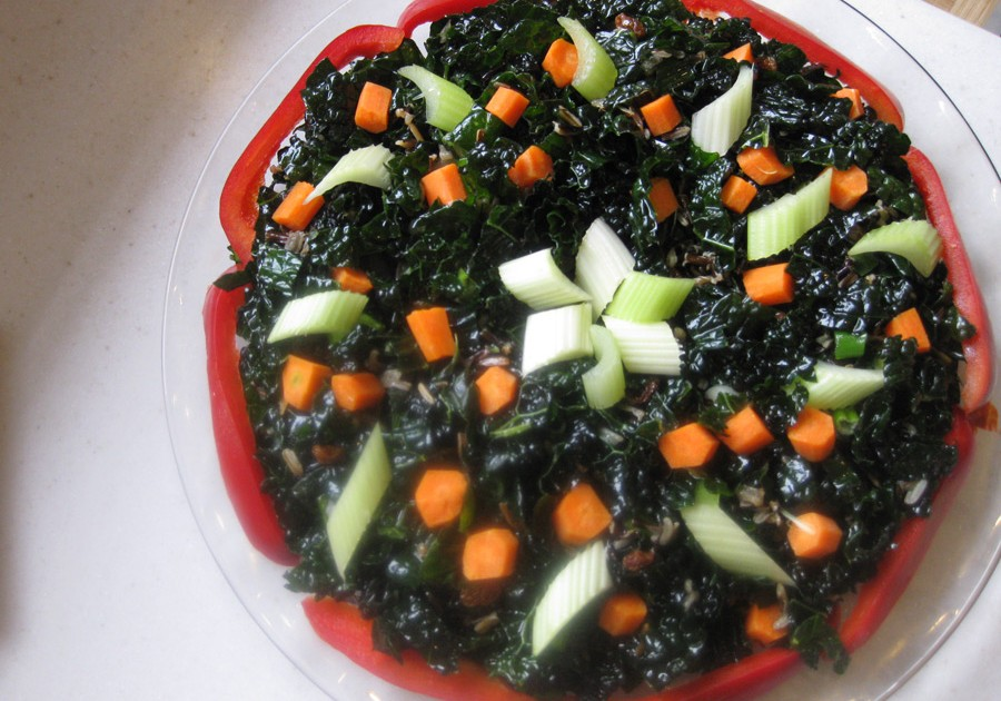 Karen Ehmke's Kale with Wild Rice Salad